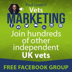 Vets marketing Facebook group