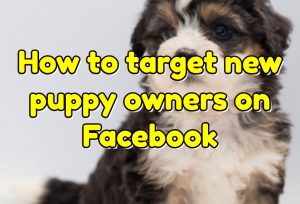 Video: How to target new puppy owners on Facebook
